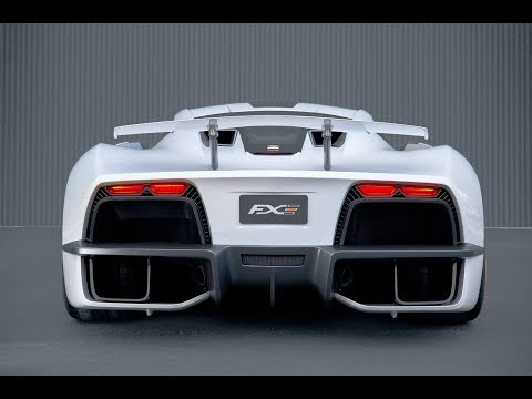 2019 Aria FXE Is America's Newest Hybrid Supercar And It Has 1,150HP | Car News 24h