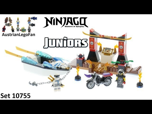 Lego Juniors Ninjago 10755 Zane´s Ninja Boat Pursuit - Lego Speed Build Review