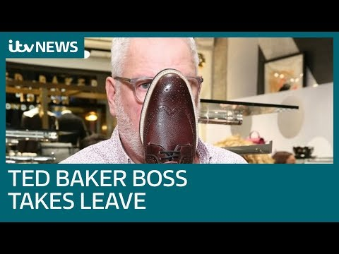 9565c9968 Ted Baker boss takes leave of absence amid  hugging  claims