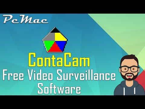 ContaCam - Free Video Surveillance Software