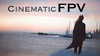 DJI FPV Freestyle Over Lake Superior | Xhover Blastr