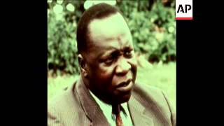 SYND 21 12 72 INTERVIEW WITH IDI AMIN ON HIS MOVES TO OUST BRITONS FROM COUNTRY