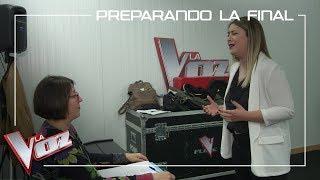 María Espinosa Ensaya 'Amiga Mía' De Alejandro Sanz | Preparando La Final | La Voz Antena 3