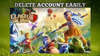 HOW TO DELETE CLASH OF CLANS ACCOUNT || NO CLICKBAIT