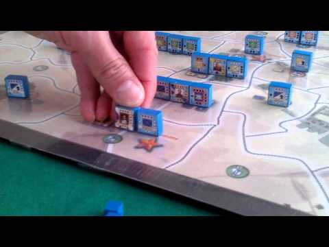 2. Strategic Action, Turn 1 French First Impulse