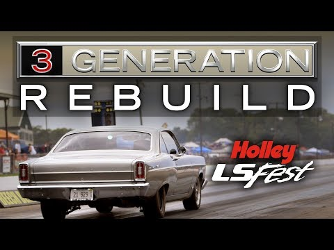 3 Generation Rebuild - 1966 Ford Fairlane LS Engine Swap - Holley LS Fest