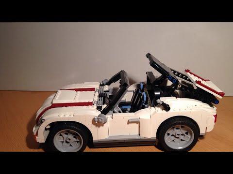 Vidéo LEGO Creator 4993 : Le cabriolet blanc