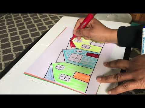 How to Make a Drawing Using a Few Straight Lines