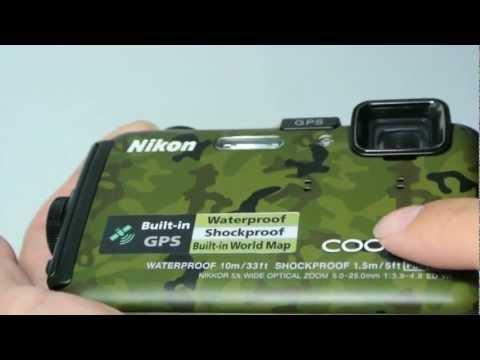 รีวิวภายนอกของกล้อง Nikon Coolpix AW100