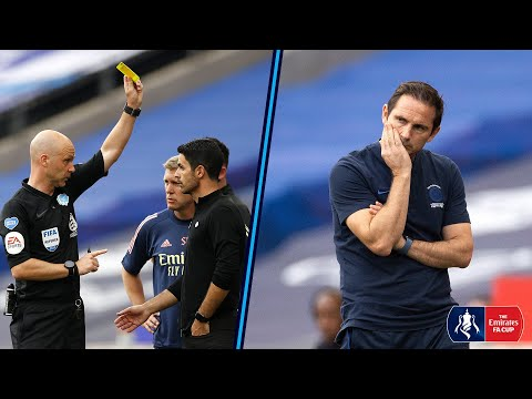 MANAGER CAM | Touchline Reactions from Arteta & Lampard in Tense Final | Arsenal 2-1 Chelsea