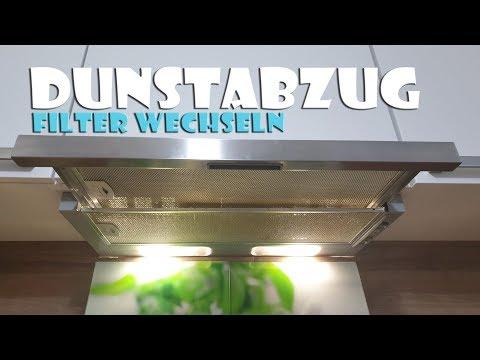 🥧 Dunstabzugshaube Kohlefilter wechseln Anleitung - change the filter in a cooker hood [4K]