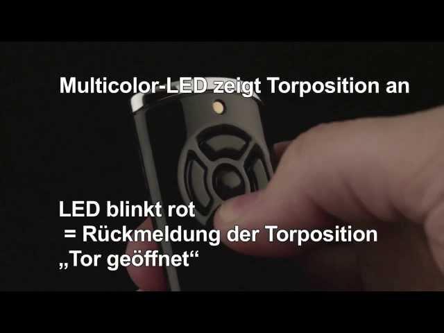 Produktvideo Hörmann Handsender HS 5, BiSecur, hochglanz weiß