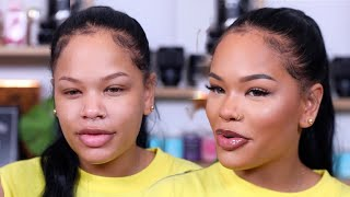 HOW TO LOOK NATURALLY SNATCHED | MY EVERYDAY MAKEUP ROUTINE | Arnellarmon