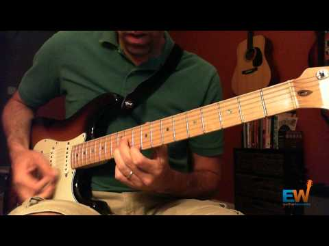 how to play the intro solo in magic sam s sweet home chicago earle wood guitar lessons. Black Bedroom Furniture Sets. Home Design Ideas