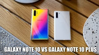 Samsung Galaxy Note10 vs Samsung Galaxy Note 10+: Which One Should You Buy?