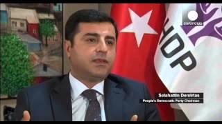 Турция: Демирташ обвиняет Эрдогана в политической мести