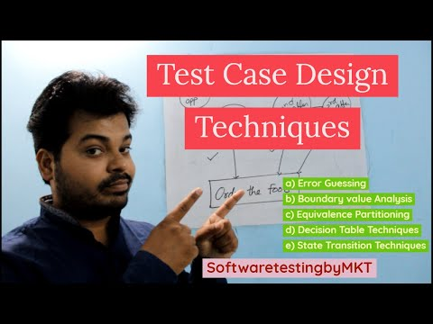Test Case Design Techniques | Easily Explained | SoftwaretestingbyMKT