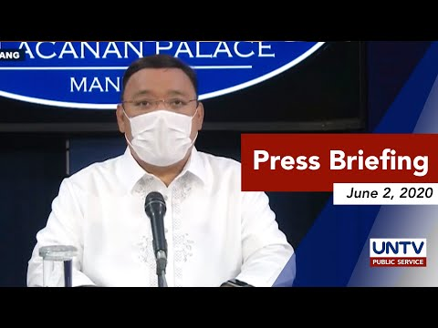 [UNTV]  Spox Harry Roque holds a virtual press briefing | Tuesday, June 2