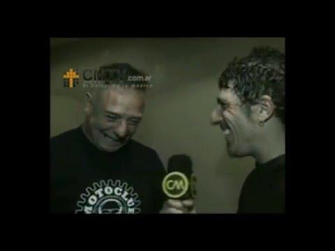 Ricardo Iorio video Iorio presenta disco solista - Entrevista 2008