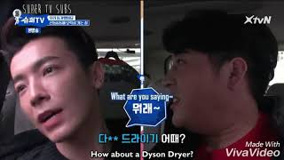 (Super TV) Lee Donghae Shindong One Fine Day. Donghae Nagging And Cooking Tho ~