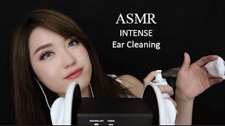 ASMR 3DIO INTENSE EAR CLEANING ❤️ (Clay, Scissors, Massage)
