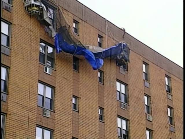 News 12 Coverage of Our Client's Scaffold Accident