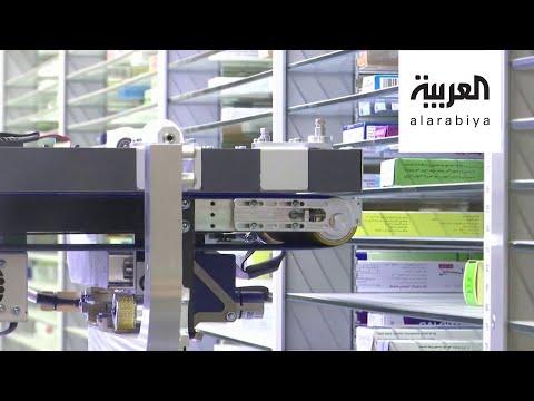 العرب اليوم - شاهد: ابتكار صيدلاني آلي في القاهرة للحد من انتشار فيروس