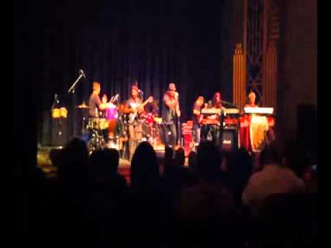 Manzo Clip Lorena  Live at the State Theater Modesto Ca
