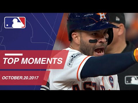 Springer's catch, plus nine moments from ALCS Gm6