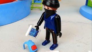 Die Diebin Im Aquapark Playmobil Film Seratus1 Polizei