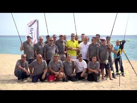 Pesca video di un abramide comune in marzo