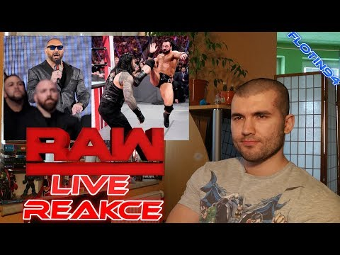 Drew McIntyre Attacks Roman Reigns, Batista and Triple H Face to Face RAW 03/11/19 LIVE REACTION