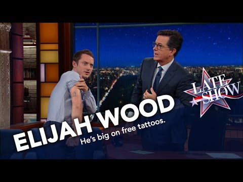 Elijah wood connects the universe and also has cool for Elijah daniel trump tattoo