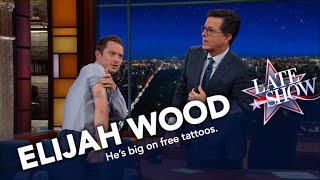Elijah Wood Connects The Universe And Also Has Cool Tattoos
