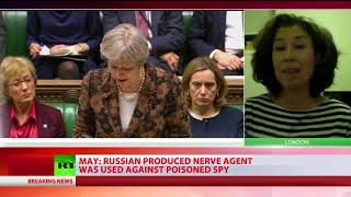 UK gives Moscow 2 days to explain alleged use of nerve agent from Russia