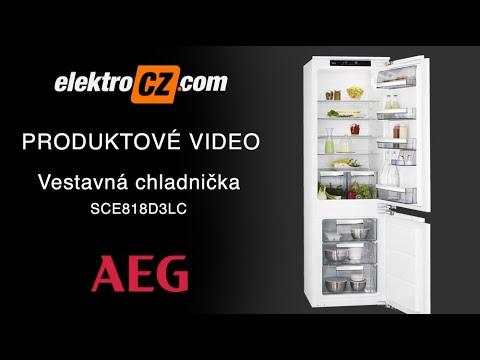 Vestavná chladnička AEG SCE818D3LC