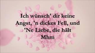Ich Wünsch Dir   Sarah Connor [Lyrics]