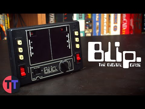How the Blip Mechanical Pong Console Worked