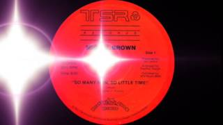 Miquel Brown - So Many Men, So Little Time (TSR Records 1983)