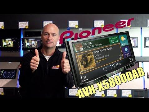 AVH-X5800DAB von Pioneer mit DAB+, App-Radio, Spotify Top-Autoradio