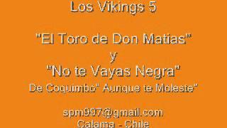 "Video thumbnail of ""Los Vikings 5 - El toro de Don Matias y No te vayas Negra"""