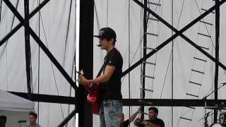 "Austin Mahone ""So Sick"" Cover - Sound Check Allentown Fair 8/28/13"