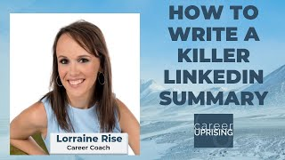 How To Write A Killer LinkedIn Summary