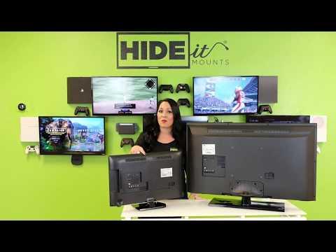 HIDEit Mounts VESA Compatibility