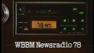 1988 WBBM Newsradio 78 commercial  - CHICAGO TV
