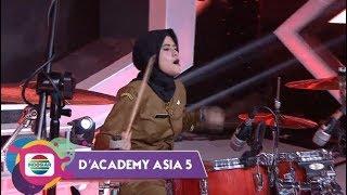 KEREN ABEEZ!! Terlihat Kalem, Namun Tabuhan Drum Desy B.Y.O.B Buat Smua Takjub - DAcademy Asia 5