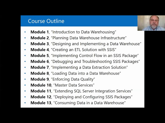 Implementing a Data Warehouse with Microsoft SQL Server (MS-20463)