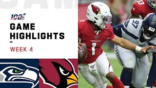 Seahawks vs. Cardinals Week 4 Highlights   NFL 2019