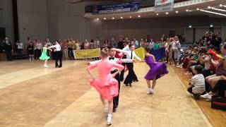 GOC 2017 Juvenile II 8 dance final Latin Tereshin Maxim - Zelikovskaya Uliana