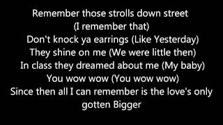 Justin Bieber  Bigger  Lyrics On Screen